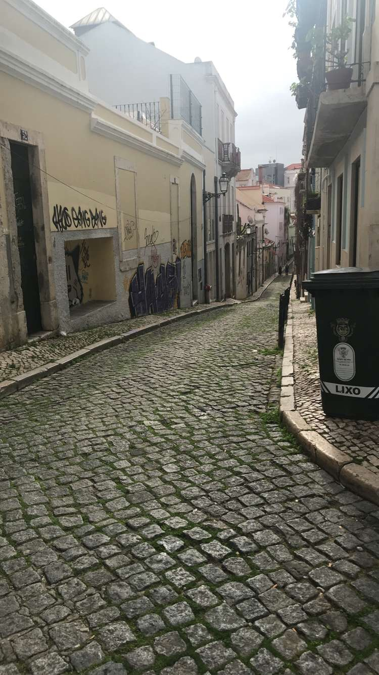 backroad of lisbon